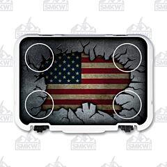 Mammoth Cruiser 30 US Flag Cooler