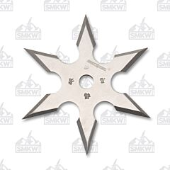 Perfect Point Satin 6 Point Throwing Star 440 Steel