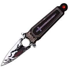 Dark Side Blades Dracula Spring Assisted Folder