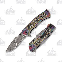 Dark Side Blades DS-A085GY Spring Assisted Knife