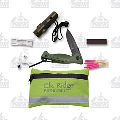 Master Cutlery Elk Ridge Survival Kit Green