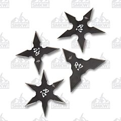 Perfect Point 4-Piece Throwing Star Set