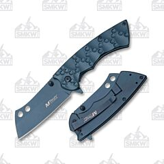 Master Cutlery MTech Crater Cleaver Blue
