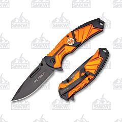 Master Cutlery Tac-Force EMT Folder Orange