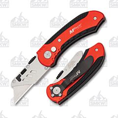Master Cutlery MTech Utility Folder Red