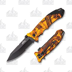 Master Cutlery PS Camo Orange
