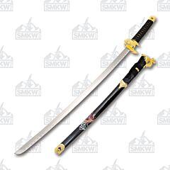 Master Cutlery SW-87 Samurai Sword Black