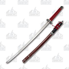 Master Cutlery SW-88 Samurai Sword Red