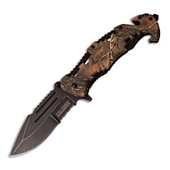 Master Cutlery Tac-Force Camo Rescue