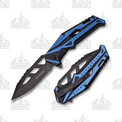 TAC-FORCE TF-985BL Blue Black Folder