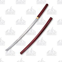 Master Cutlery Ten Ryu Burgundy Shirasaya