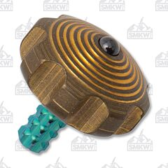Marfione Custom Green Mini Spin Top