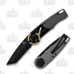 Mantis Knives 2026T Brass Gear Head Tanto