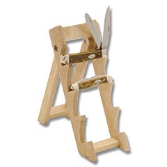 Small Wooden Easel Knife Display