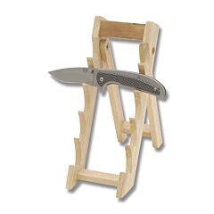"3-1/2"" Wide Wood Pocketknife Stand"