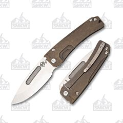 Medford Slim Midi Bronze Drop Point