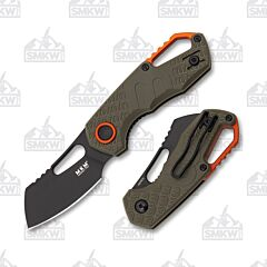 MKM Isonzo Cleaver OD Green FRN Black