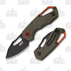 MKM Isonzo Clip Point OD Green FRN Black
