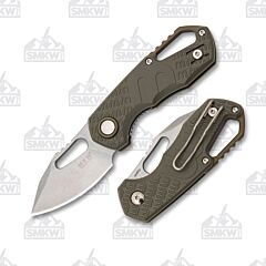 MKM Isonzo Clip Point Green FRN