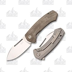 MKM Colvera Green Micarta and Titanium