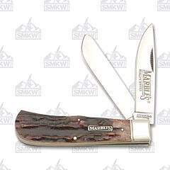 Marbles Brown Jigged Bone Jumbo Trapper