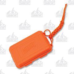 Marbles Orange Plastic Survival Box