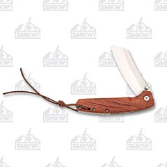 Marbles D2 Linerlock Wood Handle