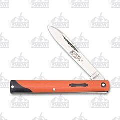 Marble's Orange G-10 Doctor's Knife