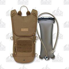 Mercury Alpha Tactical Gear Sprinter Hydration Pack Tan