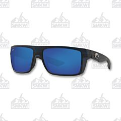 Costa Motu Matte Black Teak Sunglasses