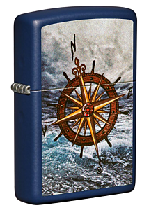 Zippo Compass Navy Matte Lighter