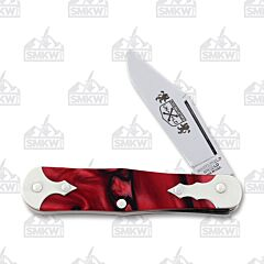 Great Eastern Cutlery Northfield Templar Crusader Acrylic Handle 1095 Carbon Steel Blade