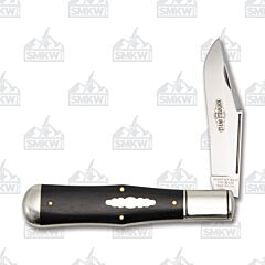 Great Eastern Cutlery Northfield #97 Allegheny Ebony Wood Handle 1095 Blade