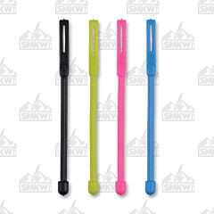 "NITE IZE Gear Tie Cordable Twist Tie 3"" Multicolor 4-Pack Model GTK3-A1-4R7"