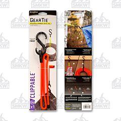 "NITE IZE Gear Tie Clippable Twist Tie 24"" Bright Orange Model GLC24-31-R3"