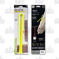 "NITE IZE Gear Tie Reusable Rubber Twist Tie 24"" Neon Yellow 2-Pack Model GT24-2PK-33"