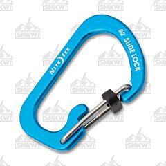 Nite Ize Slidelock Carabiner Aluminum Blue #2