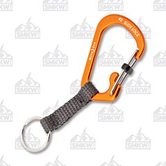 Nite Ize SlideLock Key Ring Orange