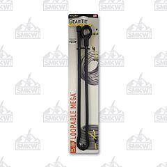 """NITE IZE Gear Tie Loopable Mega Reuseable Twist Tie 32"""" Black Model GLM32-01-R3"""
