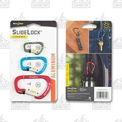 Nite Ize Sidelock Carabiner 3 Pack
