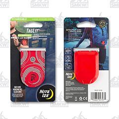 NITE IZE TagLit Magnetic LED Marker Red