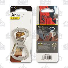 Nite Ize S-Biner AHHH Satin Finish Stainless Steel Model SBO-03-11