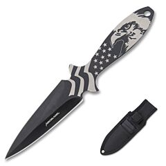 AeroBlades 3 Piece Black Throwing Knife Set 3Cr13 Stainless Steel
