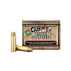 Oath Tango 38 Special 100 Grain Two Stage Copper Projectile Lead Free 50 Rounds