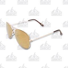 ZIPPO Bronze Pilot Sunglasses