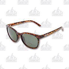 ZIPPO Green Flash Full Frame Sunglasses Model OB07-07