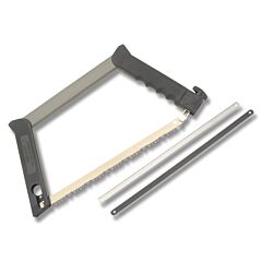 Outdoor Edge Pack-Saw Stainless Steel Blades Molded Black Polymer Handles