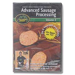 Outdoor Edge Advanced Sausage Processing Volume 3 DVD