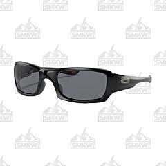 Oakley Fives Squared Polarized Gray Sunglasses
