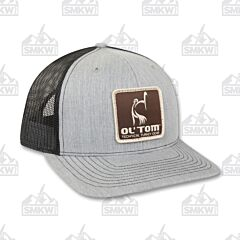 Drake Ol' Tom Mesh Back Patch Cap Gray and Black